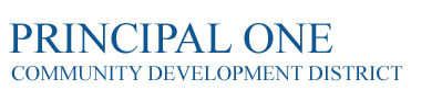 Principal One Community Development District Logo